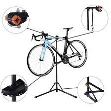 Soporte de Reparación Trabajo para Bicicleta Ajustable con Bandeja Herramienta