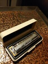 New ListingHohner Marine Band Crossover Harmonica - Key of B Flat with Case