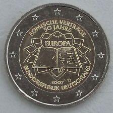 2 Euro Deutschland D 2007 Römische Verträge unz