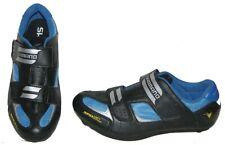 Shimano SH-R 073B Cycling Shoes 2 3 4 Bolt Black Blue EU 41 7.5 US Men 8.5 Women