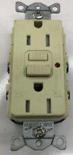 GFTR15I HUBBELL NO 15-AMP 125-VOLT COMMERCIAL LED TAMPER-RESISTANT GFCI IVORY NE