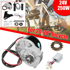 250W Electric Bike Components Conversion Kit Motor Controller F/ 22-28'' Bicycle