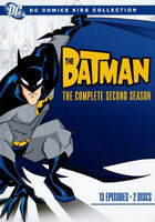 The Batman: The Complete Second Season (Season 2) (2 Disc) DVD NEW