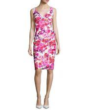 NWT Chiara Boni La Petite Robe Timotea Floral Dress Pierre de Ronsard 12 $695