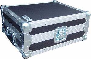 Technics SL1210 Turntable DJ Deck Swan Flight Case (Hex)