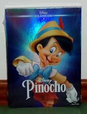 PINOCHO PINOCCHIO DVD CLASICO DISNEY Nº 2 NUEVO PRECINTADO SLIPCOVER (SIN ABRIR)