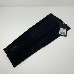 RAPHA Pro Team Shadow Softshell Arm Warmers Size Small Black New