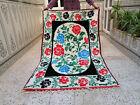 moroccan handmade Vintage wool rug azilal floral area rug beni ourain rug Carpet