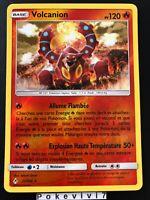 Carte Pokemon VOLCANION 25/214 HOLO Reverse Soleil et Lune 10 SL10 FR NEUF