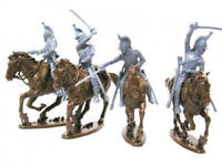 CALL TO ARMS WATERLOO FRENCH DRAGOONS 4 MOUNTED 1/32 SCALE SERIES 20 FREE SHIP