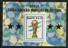 BRAZIL 1994 WORLD CUP SOCCER CHAMPIONSHIP/WINNER/CUP/BALLS/STARS/FOOTBALL