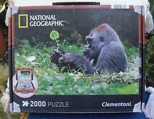 "National Geographic Jigsaw "" A Mountain Gorilla "" 2000 Piece"