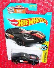 2016 Hot Wheels Speed Graphics '14 Corvette Stingray #180  DHR76-D9B0E upc label