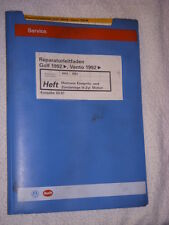 Golf VR6 Motor Motronic+Zylinderkopf+Ventil Reparaturhandbuch Reparaturleitfaden