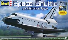 U.S.Dealer! New ! Revell 1/144 Scale Space Shuttle with 48 Page Historical Book