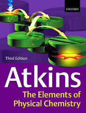 """VERY GOOD"" The Elements of Physical Chemistry, 3rd Ed., Atkins, Peter W., Book"