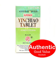 Great Wall Brand Superior Yin Chiao - 120 tablets (New!)