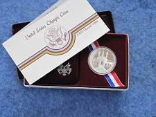 1984-S XXIII Olympiad Commemorative Gem Proof Silver Dollar B9968