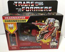 New listing Headmaster Chomedome Walmart Reissue Transformers G1 New Sealed 2021