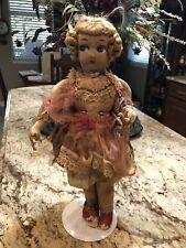 Vintage Boudoir Silk Doll