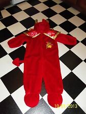Halloween Plush Devil Costume ages 4 to 6