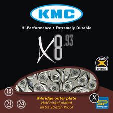 Cadenas gris KMC para bicicletas