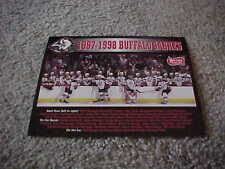 1997 Buffalo Sabres NHL Hockey Team Photo