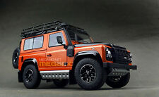 1/18 Kyosho Land Rover Defender 90 D90 Orange Adventure Edition