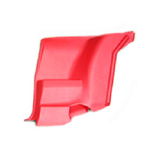 1972 - 1981 FIREBIRD TRANS AM CAMARO REAR SEAT SIDE PANEL ARM REST RED - RIGHT -