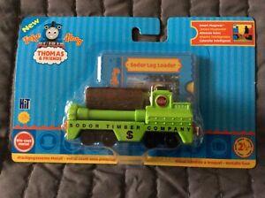WOW ##  Take along Thomas - SODOR LOG LOADER Thomas & Friends - MOC RARE