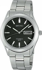 Reloj De Titanio Seiko Caballeros día fecha-SGG599P1-SQNP