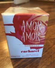 Cacharel Amor Amor Sunrise EDT ! 50 ML 1.7 FL.OZ @ Very RARE @ Authentic 100%