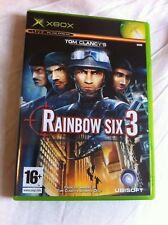 Tom Clancy's Rainbow Six 3 - 2003 tactical shooter (Microsoft Xbox - PAL)