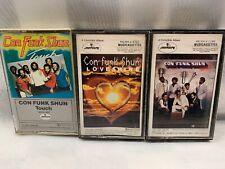 FUNK SHUN (3 Cassette Tapes) LOVESHINE Secrets TOUCH