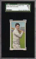 Rare 1909-11 T206 Josh Devore Piedmont 350-460 New York SGC 60 / 5 EX
