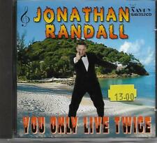JONATHAN RANDALL - YOU ONLY LIVE TWICE (SAV352CD) SEQUENCE DANCING CD EXCELLENT
