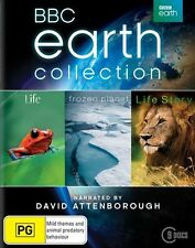 David attenborough Earth collection Life+Frozen Planet+Life Story blu ray Boxset