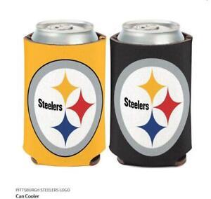 Pittsburgh Steelers Logo Raffreddatore NFL Calcio Can Cooler