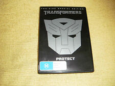 TRANSFORMERS action 2007 = 2 DVD as NEW michael bay Shia LaBeouf megan fox R4
