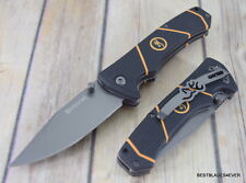 7 INCH BROWNING LONG HAUL LINER-LOCK FOLDING KNIFE WITH POCKET CLIP