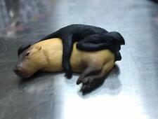 Custom Made Capybara with Spider Monkey animal Mini PVC Figurine Figure Model