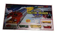 Bachmann Meteor N Scale Electric Train Set - EZ Track Santa Fe 307 as seen on TV