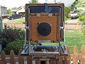 8x10 Large Format Camera(Excluding lens and lens board)