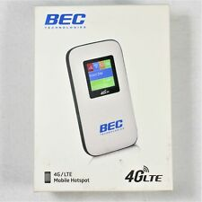 New BEC 430M Mobile Hotspot Modem 4G LTE - Compatible with all WiFi Devices 802