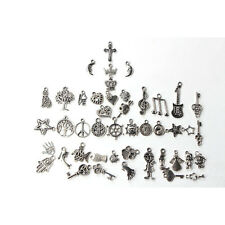 Wholesale 100pcs Bulk Lots Tibetan Silver Mix Charm Pendants Jewelry Diy Xmas�