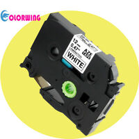 1 pack Black on White Label Tape Compatible with Brother TZe 231 P-Touch 12mm