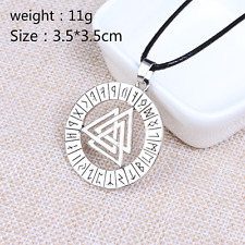 Viking Nordic Mythology Myopia Triangle Necklace Nordic Pirate Pendant Necklace