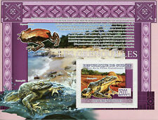 Guinea Frogs Stamps 2009 MNH Reptiles & Amphibians Fauna 1v S/S
