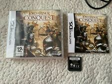 THE LORD OF THE RINGS CONQUEST - NINTENDO DS