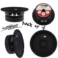 "DS18 6.5"" Midrange Loudspeaker 1920W Max 8 ohm PRO-GM6 Speaker (4 Speakers)"